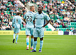 Hibs v St Johnstone...25.08.12   SPL.Nigel Hasselbaink rues another misssed chance.Picture by Graeme Hart..Copyright Perthshire Picture Agency.Tel: 01738 623350  Mobile: 07990 594431