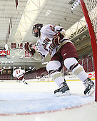 Mary Restuccia (BC - 22) - The visiting St. Lawrence University Saints defeated the Boston College Eagles 4-0 on Friday, January 15, 2010, at Conte Forum in Chestnut Hill, Massachusetts.