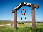 Hairpin Ranch archway, Jackson, Montana<br /> <br /> Big Hole Valley
