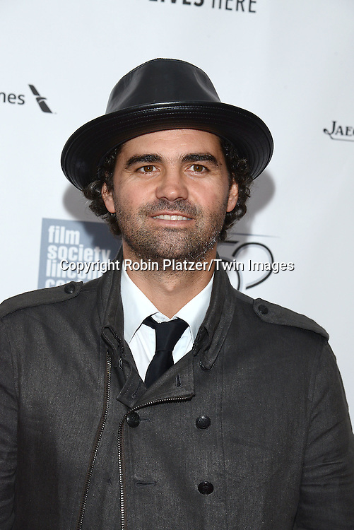 writer Armando Bo attends &quot;Birdman or The Unexpected Virtue of Ignorance&quot; screening at The 52nd New York Film Festival on October 11, 2014 at Alice Tully Hall in New York City. <br /> <br /> photo by Robin Platzer/Twin Images<br />  <br /> phone number 212-935-0770