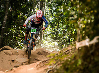 Picture by Alex Broadway/SWpix.com - 10/09/17 - Cycling - UCI 2017 Mountain Bike World Championships - Downhill - Cairns, Australia - Joe Parfitt of Great Britain competes in the Men's Junior Downhill Final.