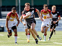 Broncos No 10 action during the U19's game between London Broncos and Catalans at Ealing Trailfinders, Ealing, on Sun May 1, 2016