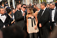 "CANNES, FRANCE. May 21, 2019: Leonardo DiCaprio, Quentin Tarantino & Margot Robbie at the gala premiere for ""Once Upon a Time in Hollywood"" at the Festival de Cannes.<br /> Picture: Paul Smith / Featureflash"