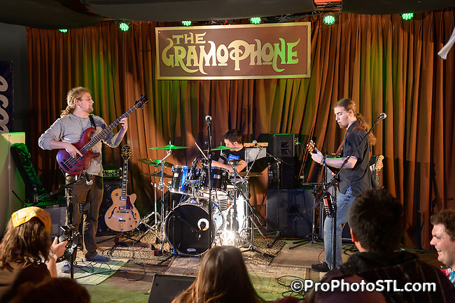 Sugar Stone Shakedown in concert at The Gramophone in St. Louis, MO on Jan 3, 2013.