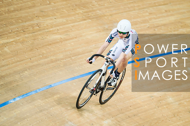 Chan Choi Tak Seth of X SPEED in action during the Open Qualifying (200M Flying Start) at the Hong Kong Track Cycling Race 2017 Series 5 on 18 February 2017 at the Hong Kong Velodrome in Hong Kong, China. Photo by Marcio Rodrigo Machado / Power Sport Images