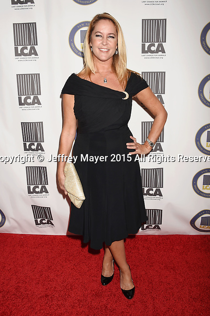 BEVERLY HILLS, CA - OCTOBER 24: Actress Erin Murphy attends the Last Chance for Animals Benefit Gala at The Beverly Hilton Hotel on October 24, 2015 in Beverly Hills, California.
