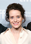 Claire Foy attends 'Breathe' photo call during the 2017 Toronto International Film Festival at The Tiff Bell Lightbox on September 12, 2017 in Toronto, Canada.