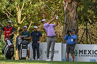 Charles Howell III (USA) watches his tee shot on 16 during round 3 of the World Golf Championships, Mexico, Club De Golf Chapultepec, Mexico City, Mexico. 2/23/2019.<br /> Picture: Golffile | Ken Murray<br /> <br /> <br /> All photo usage must carry mandatory copyright credit (© Golffile | Ken Murray)