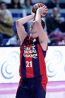 Caja Laboral Baskonia's Tibor Pleiss during Liga Endesa ACB match.January 6,2012. (ALTERPHOTOS/Acero) /NortePhoto