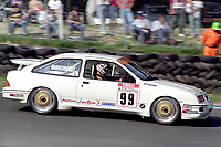 Round 10 of the 1991 British Touring Car Championship. #99 Andy Middlehurst (GBR). Graham Goode Racing. Ford Sierra.
