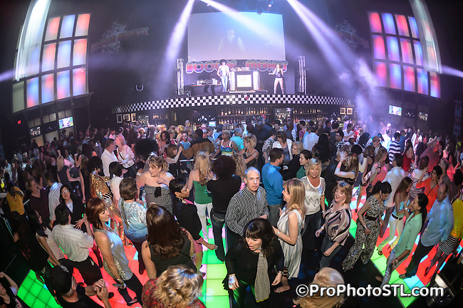 Boogie Night at Hollywood Casino in St. Louis, MO on April 6, 2013.
