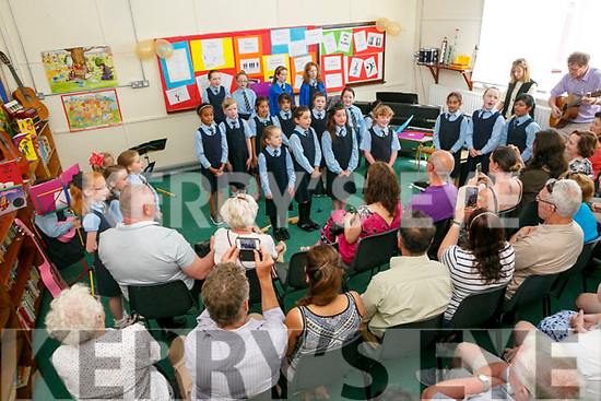 Presentation  Primary School Tralee  Music Performance 'The Get Into Music Initiative' first time piloted in Kerry on Tuesday