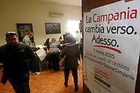 Elezioni  primarie del centrosinistra per la scelta del candidato  a presidente della regione campania