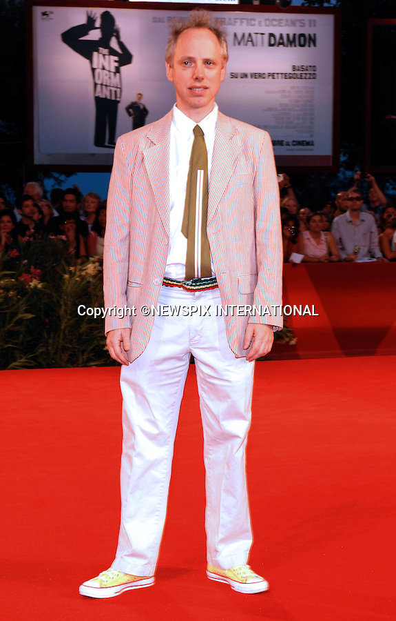 """TODD SOLONDZ.at the  66th Venice Film Festival , Venice_03/09/2009.Mandatory Credit Photo: ©NEWSPIX INTERNATIONAL..**ALL FEES PAYABLE TO: """"NEWSPIX INTERNATIONAL""""**..IMMEDIATE CONFIRMATION OF USAGE REQUIRED:.Newspix International, 31 Chinnery Hill, Bishop's Stortford, ENGLAND CM23 3PS.Tel:+441279 324672  ; Fax: +441279656877.Mobile:  07775681153.e-mail: info@newspixinternational.co.uk"""