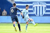 Kansas City, Kansas - March 10, 2019: Sporting K.C. defeated Philadelphia Union 2-0 in an MLS game at Children's Mercy Park.