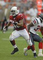 Aug 18, 2007; Glendale, AZ, USA; Arizona Cardinals fullback Tim Castille (46) against the Houston Texans at University of Phoenix Stadium. Mandatory Credit: Mark J. Rebilas-US PRESSWIRE Copyright © 2007 Mark J. Rebilas