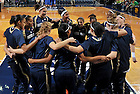Dec. 11, 2010; The Women's Basketball team huddles before the game against Creighton...Photo by Matt Cashore/University of Notre Dame
