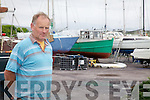 Fionán Murphy pictured here at his boat yard on Valentia Island, FM Marine Services.