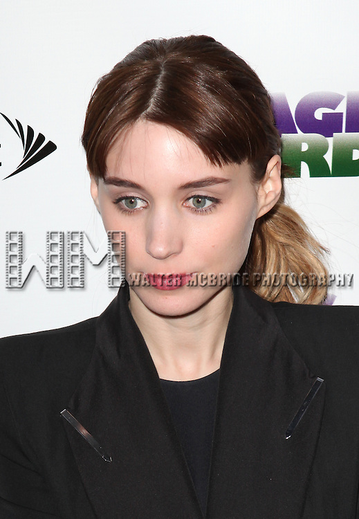 """Rooney Mara.attending the Broadway Opening Night Performance of """"Magic / Bird"""" at the Longacre Theatre in New York City on April 11, 2012"""