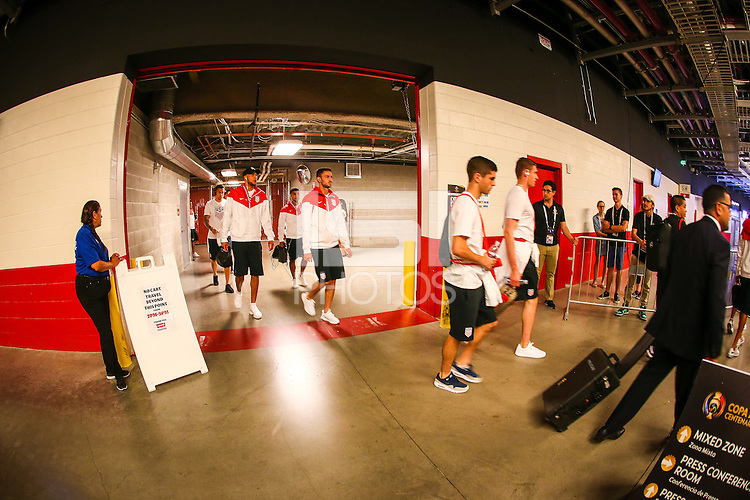 Photo before the match United States vs Colombia, Corresponding Group -A- America Cup Centenary 2016, at Levis Stadium<br /> <br /> Foto previo al partido Estados Unidos vs Colombia, Correspondiante al Grupo -A-  de la Copa America Centenario USA 2016 en el Estadio Levis, en la foto: Jugadores de USa<br /> <br /> 03/06/2016/MEXSPORT/German Alegria.