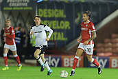 12th September 2017, Oakwell, Barnsley, England; Carabao Cup, second round, Barnsley versus Derby County; George Moncur of Barnsley FC makes a run down field