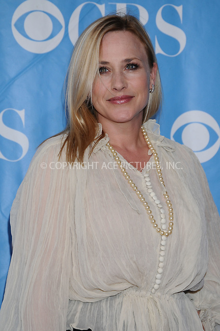 WWW.ACEPIXS.COM . . . . . ....May 20 2009, New York City....Patricia Arquette at the 2009 CBS Upfront at Terminal 5 in Manhattan on May 20, 2009 in New York City.....Please byline: AJ SOKALNER - ACEPIXS.COM.. . . . . . ..Ace Pictures, Inc:  ..tel: (212) 243 8787 or (646) 769 0430..e-mail: info@acepixs.com..web: http://www.acepixs.com
