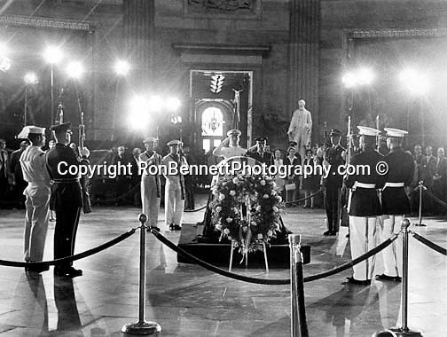 Funeral of FBI Director J. Edger Hoover Washington D.C.,