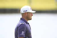 Tyrrell Hatton (ENG) on the 1st fairway during Round 4 of the HNA Open De France at Le Golf National in Saint-Quentin-En-Yvelines, Paris, France on Sunday 1st July 2018.<br /> Picture:  Thos Caffrey | Golffile