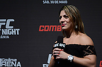GOIÂNIA, GO, 29.05.2015 – UFC-GOIÂNIA – Beth Correia Pitbull durante pesagem para o UFC Goiânia no Goiânia Arena em Goiânia na tarde desta sexta-feira, 29. (Foto: Ricardo Botelho / Brazil Photo Press)