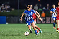 Boston, MA - Sunday September 10, 2017: Angela Salem during a regular season National Women's Soccer League (NWSL) match between the Boston Breakers and Portland Thorns FC at Jordan Field.