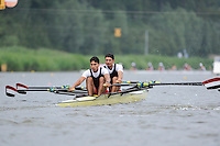 Amsterdam, NETHERLANDS, IRQ BLM2X,  2011 FISA U23 World Rowing Championships, Wednesday, 20/07/2011 [Mandatory credit:  Intersport Images]