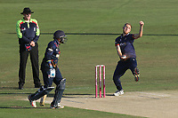 Jamie Porter in bowling action for Essex during Kent Spitfires vs Essex Eagles, Vitality Blast T20 Cricket at the St Lawrence Ground on 2nd August 2018