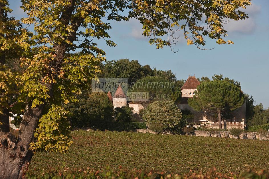 Europe/Europe/France/Midi-Pyrénées/46/Lot/Luzech: Château de Caix [Non destiné à un usage publicitaire - Not intended for an advertising use]