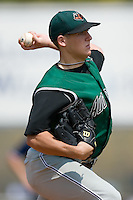 Augusta starting pitcher Clayton Tanner (31) in action versus Kannapolis at Fieldcrest Cannon Stadium in Kannapolis, NC, Monday, September 3, 2007.