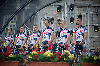 Tour de France 2012.Team Presentation.Liège.
