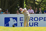 Paul Broadhurst tees off from the par 4 6th tee during Round 3 of the BMW PGA Championship at  Wentworth, Surrey, England, 22nd May 2010...Photo Golffile/Eoin Clarke.(Photo credit should read Eoin Clarke www.golffile.ie)....This Picture has been sent you under the condtions enclosed by:.Newsfile Ltd..The Studio,.Millmount Abbey,.Drogheda,.Co Meath..Ireland..Tel: +353(0)41-9871240.Fax: +353(0)41-9871260.GSM: +353(0)86-2500958.email: pictures@newsfile.ie.www.newsfile.ie.