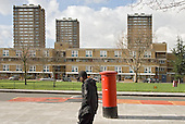 Ranwell Estate, one of the Parkside group of estates in Tower Hamlets, East London, where tenant campaigners won an injunction in February 2007 preventing the council completing the sell-off of more than 2000 council homes to a subsidiary of housing group Circle Anglia.