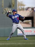Jacob Amaya - Los Angeles Dodgers 2020 spring training (Bill Mitchell)