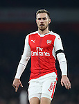 Arsenal's Aaron Ramsey in action during the EFL Cup match at the Emirates Stadium, London. Picture date October 30th, 2016 Pic David Klein/Sportimage