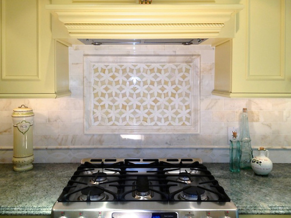 Kitchen Backsplash Border custom kitchen mosaics | new ravenna