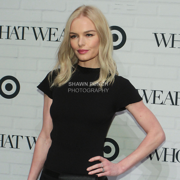 Actress Kate Bosworth attends the Target + Who What Wear launch of the Who What Wear collection by Hillary Kerr and Katherine Power, on January 27, 2016.