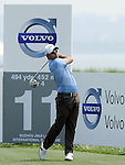 SUZHOU, CHINA - APRIL 16:  Pablo Larrazabal of Spain tees off on the 11th hole during the Round Two of the Volvo China Open on April 16, 2010 in Suzhou, China. Photo by Victor Fraile / The Power of Sport Images