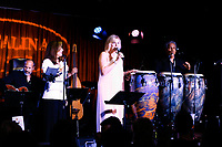 LOS ANGELES - SEP 25: Denise Donatelli, Carol Weisman, Louie Cruz Beltran at 'Pat Harris' California Democratic U.S. Senate run 2018 kick off' at Catalina Jazz Club Bar & Grill on September 25, 2017 in Hollywood, California