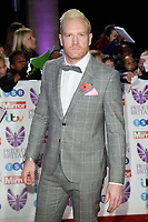 Iwan Thomas<br /> arriving for the Pride of Britain Awards 2018 at the Grosvenor House Hotel, London<br /> <br /> ©Ash Knotek  D3456  29/10/2018