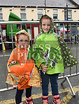 Emily and Lucy Lynch at Stage seven of An Post Rás 2017 in Ardee. Photo:Colin Bell/pressphotos.ie