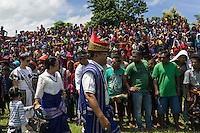 March 29, 2016 - Wainyapu (Indonesia). Spectators stare at the local governor of Sumba and his family while he's walking towards the tribune of honor. © Thomas Cristofoletti / Ruom