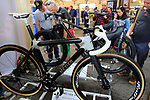 Metier Velo stand at Bespoked 2018 UK handmade bicycle show held at Brunel's Old Station & Engine Shed, Bristol, England. 21st April 2018.<br /> Picture: Eoin Clarke | Cyclefile<br /> <br /> <br /> All photos usage must carry mandatory copyright credit (© Cyclefile | Eoin Clarke)