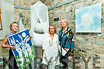 """& Gently Letting Go..."" Pictured at their exhibition of new work at St. John's Theatre & Arts Centre, Listowel on Thursday night last were Susan Hitching, Knocknagoshel, Rebecca Carroll, Asdee & Noreen Breen, Fenit."