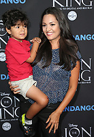 "05 August 2017 - Los Angeles, California - Paula Garces, Antonio Andres Hernandez. ""The Lion King"" Sing-Along Screening. Photo Credit: F. Sadou/AdMedia"