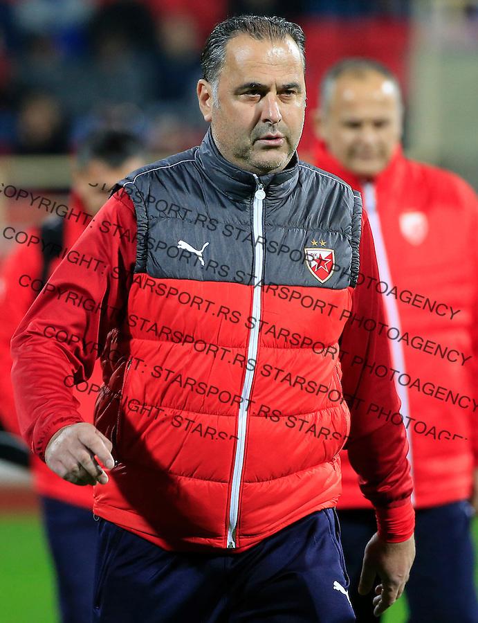 Fudbal Jelen Super League season 2015-2016<br /> Radnicki Nis v Crvena Zvezda<br /> head coach Miodrag Bozovic<br /> Nis, 22.11.2015.<br /> foto: Srdjan Stevanovic/Starsportphoto&copy;